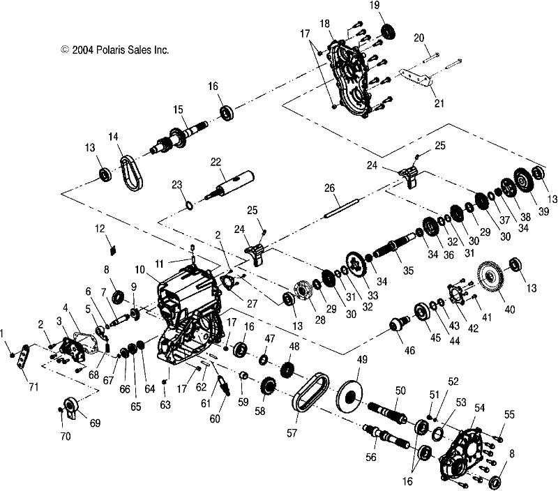 2005 polaris ranger parts diagram